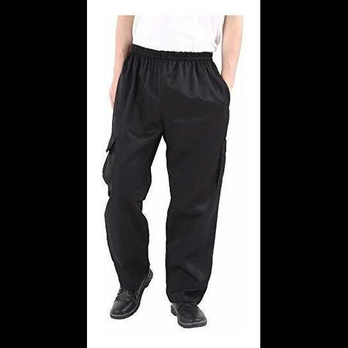 Pantalones De Chef Holgados Negros Para Hombres Y Mujeres Pa 50 477 30